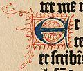 Biblia de Gutenberg, 1454 (Letra E) (21214405453).jpg