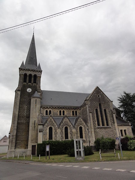 Bichancourt (Aisne) église