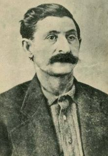 Big Nose George Late 19th century cattle rustler and highwayman in the American Wild West