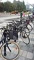 Bikes Karolinska Institutet Solna 02.jpg
