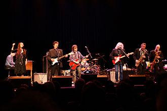 Bill Wyman's Rhythm Kings - Bill Wyman and his Rhythm Kings Middelburg January, 2009