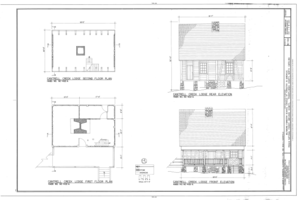 Biltmore Forestry School, Brevard, Transylvania County, NC HABS NC-402 (sheet 1 of 9).png