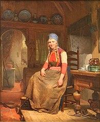 Une femme de l'ilot de Schokland
