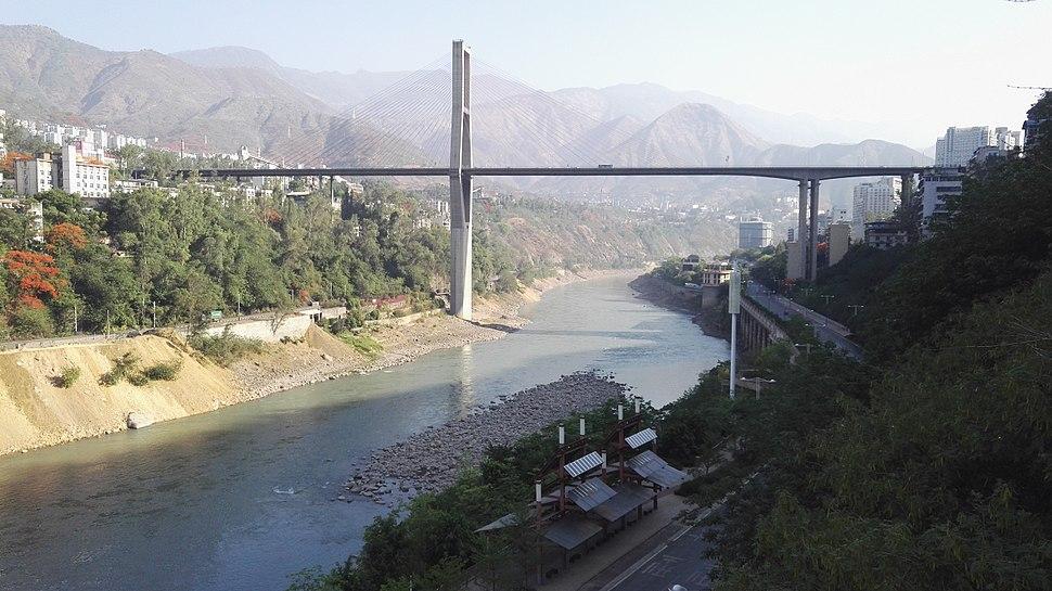 Bingcaogang Bridge - view from Yuanheng Market of Building Materials.jpg