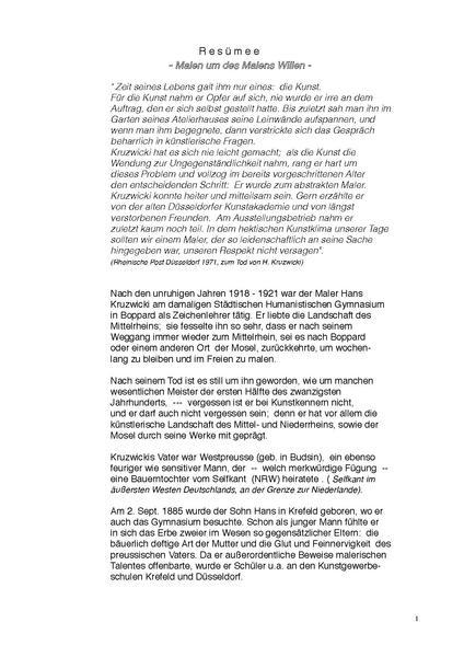 Dateibiographie 2 Teil Von Hans Kruzwicki Resümeepdf Wikipedia
