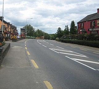 Birdhill Village in Munster, Ireland