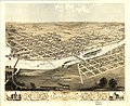 Birds eye view of the city of Cedar Rapids and Kingston, Linn Co., Iowa 1868. LOC 73693391.jpg