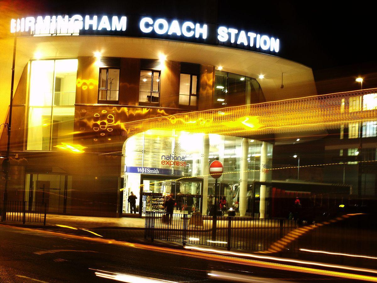 Birmingham Coach Station Villa Park