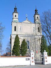 Kościół parafialny w Biskupicach