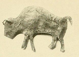Bison effigy