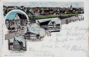 Bittenfeld - Bittenfeld in 1900