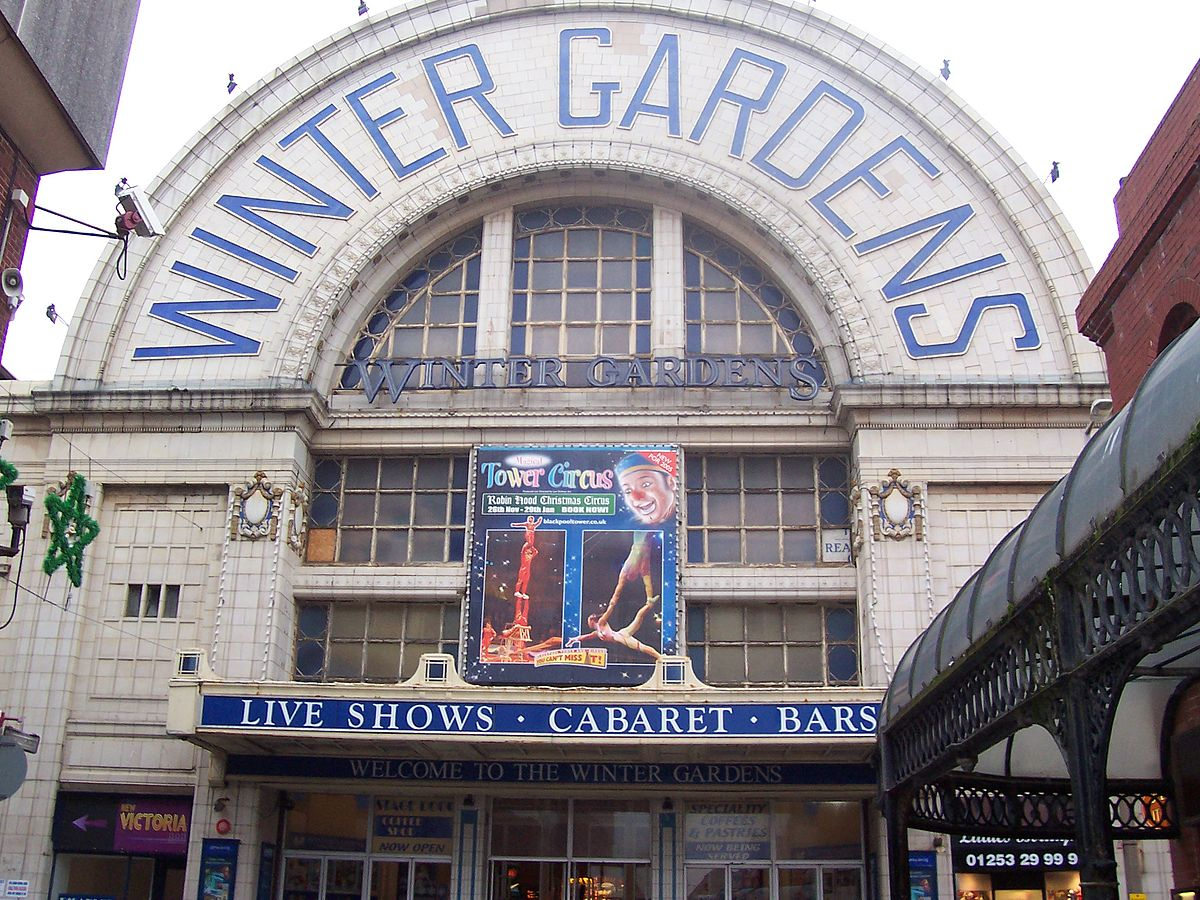 winter gardens blackpool wikipedia
