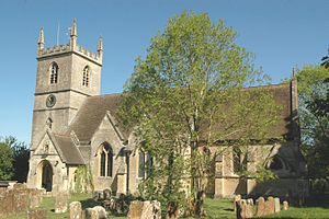 St Martin's Church, Bladon - Image: Bladon St Martin south