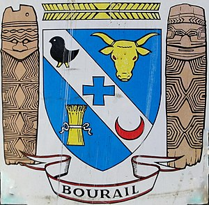 Bourail - Coat of Arms of Bourail