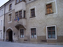Former building of Academia Istropolitana in Bratislava