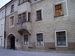 Universitas Istropolitana - Former university building in present-day Bratislava