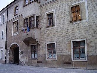 Medieval university - Universitas Istropolitana (A former university building in present-day Bratislava)