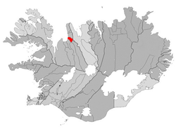 Location of the Municipality of Blönduós