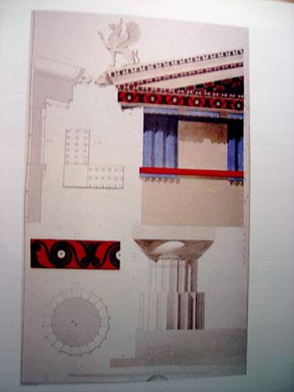 Guillaume-Abel Blouet - Temple de Jupiter Panhellénien
