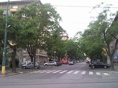 Ako do Blumentálska hromadnou dopravou - O mieste