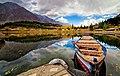Boat on Lower Kachura Lake, Shangrila Resort Skardu 552534a77b507.jpg