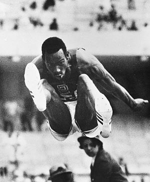 Bob Beamon - Bob Beamon in 1968