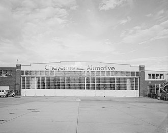 National Register of Historic Places listings in Laramie County, Wyoming - Image: Boeing United Airlines Hangar, Cheyenne