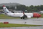 Boeing 737-8JP(w) 'LN-DYA' Norwegian Air Shuttle (30017640127).jpg