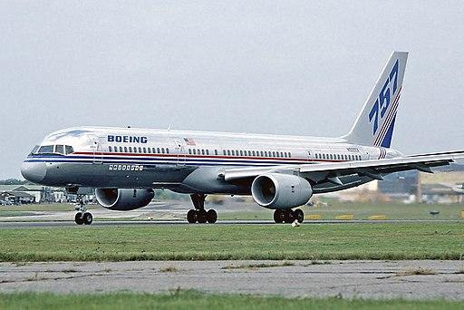 Boeing 757-200 Farnborough 1982 Fitzgerald