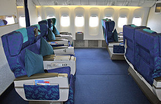 Malaysia Airlines Flight 370 - Business Class Seats (2004)