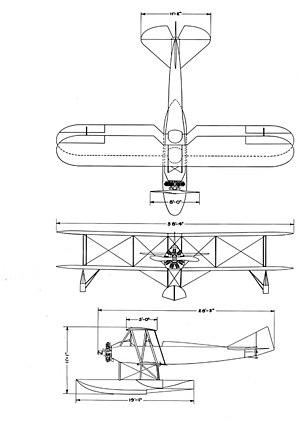 Boeing Model 64 - Boeing model 64 drawing