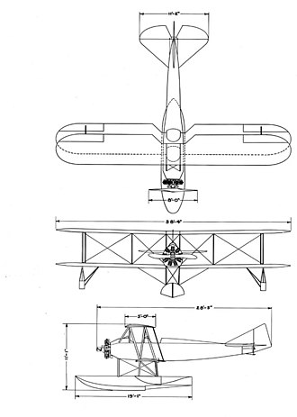 Boeing Model 64 - Boeing model 64 drawing