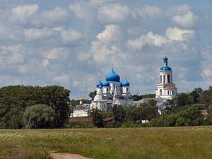 Bogolyubovo, Vladimir Oblast - View of Bogolyubovo