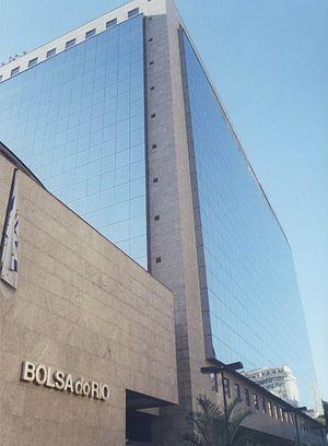 It's the stock exchange of RIo de Janeiro