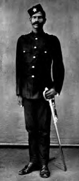 Indian Police Service - Image: Bombay Police Jamadar pre 1910