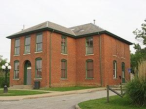 Booker T. Washington School (Rushville, Indiana) - Booker T. Washington School, May 2011