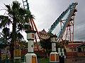 Boomerang roller coaster, Six Flags Fiesta Texas (2004).jpg