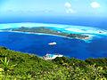 Bora Bora - Motu Toopua ^ Vaitape from above - Flickr - rachel thecat.jpg