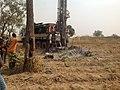 Borehole drilling in Luvu Madaki, Nassarawa state.jpg