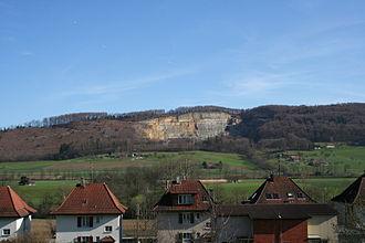 Wangen bei Olten - Born Mountain behind Wangen bei Olten