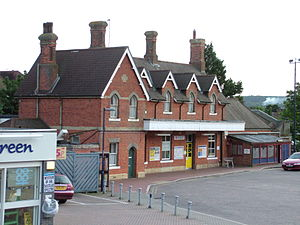Borough Green - Image: Borough Green Station 23 08 05