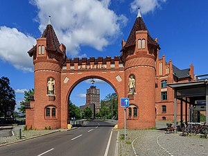 August Borsig - Gate of the former Borsig-Werke factory in Berlin