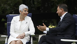 2011 Croatian parliamentary election - Jadranka Kosor and Borut Pahor developed a close political and personal relationship and were successful in solving the border dispute.