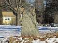Boston Post Road Milestone 33, Northborough MA.jpg