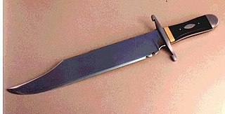 Bowie knife Pattern of fixed-blade fighting knife