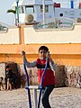 Boy Exercises in Park - Malecon Scene - La Paz - Baja California Sur - Mexico (23819974905).jpg