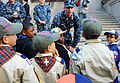Boy Scouts of America PT and talk with members of the sea services during Fleet Week New York 2015 150523-N-CD297-097.jpg
