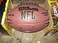 Brady Quinn Signed NFL football (6778754569).jpg
