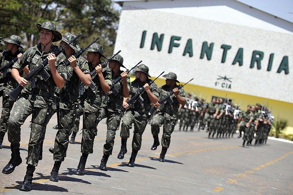 Brazilian soldiers, 2012