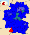 Breckland UK ward map 2019.png